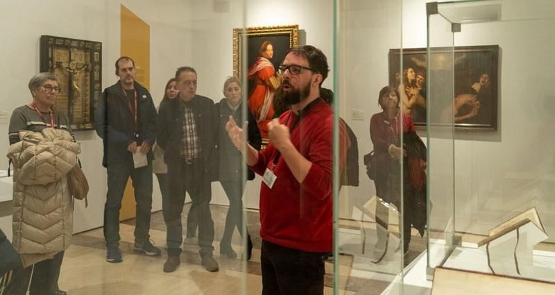 A exposición 'Galicia, un relato no mundo' da Xunta pecha o seu primeiro mes cunha cifra récord de 12.000 visitantes