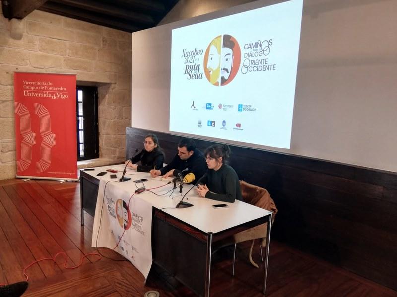 Presentación do proxecto 'O Xacobeo 2021 e a Ruta da Seda'