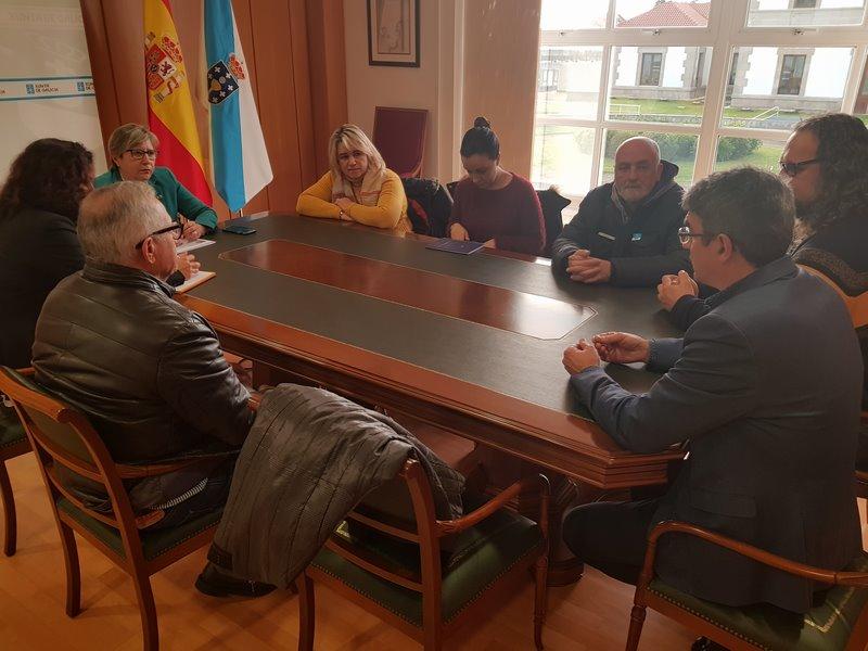 A Guarda pide á consellería do Mar un futuro para o seu Porto
