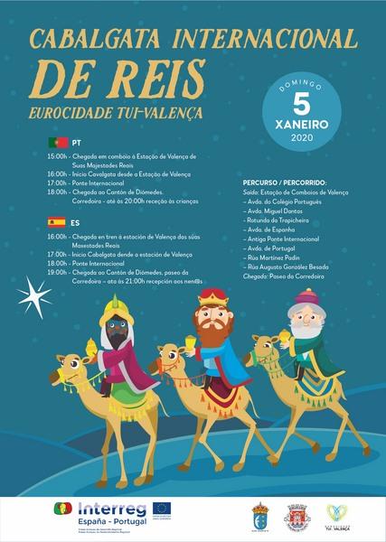 A Cabalgata Internacional de Reis da Eurocidade Tui-Valença, 10 anos levando a maxia polas rúas destas vilas raianas