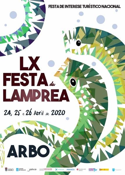 A Festa da Lamprea de Arbo celebra este ano a súa 60ª edición