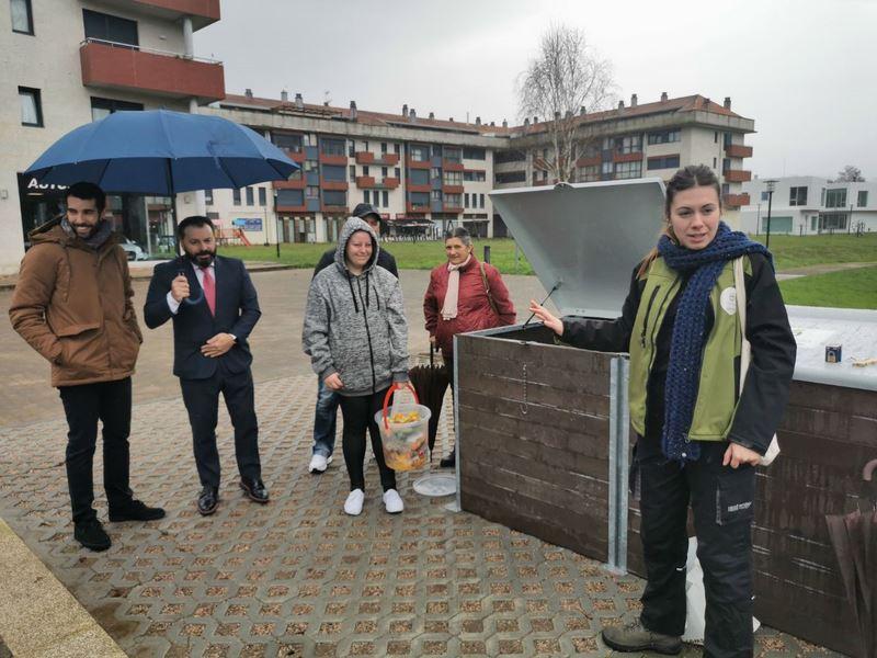 Gondomar aposta pola reciclaxe e inaugura un segundo centro de compostaxe comunitaria