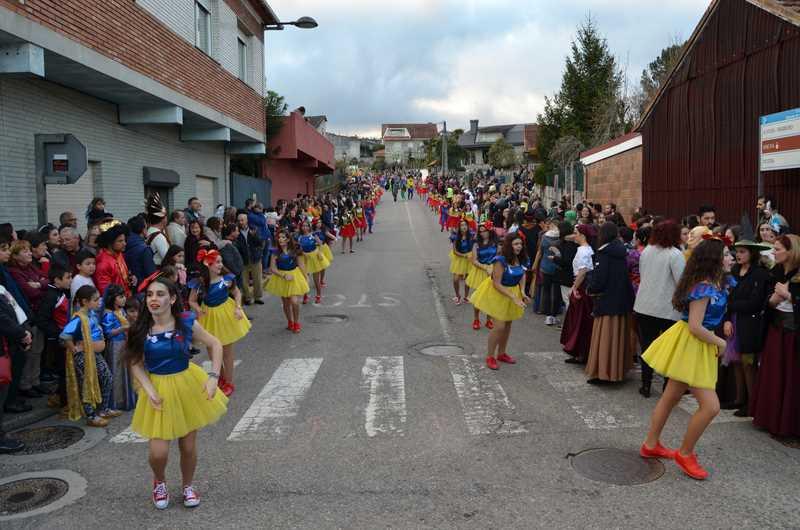 O Concello de Salceda publica as bases para participar no seu desfile de Entroido