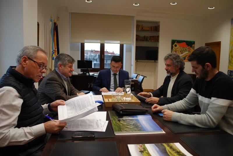A Xunta destinará preto de medio millón de euros a recuperar o potencial forestal danado polos lumes no concello das Neves
