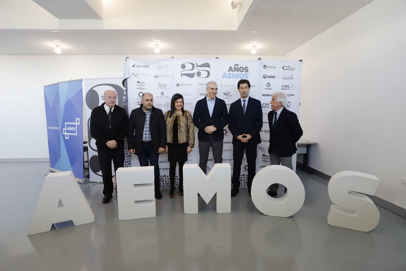 Conde destaca a colaboración público-privada para facer do novo viveiro industrial de Mos un motor da economía local