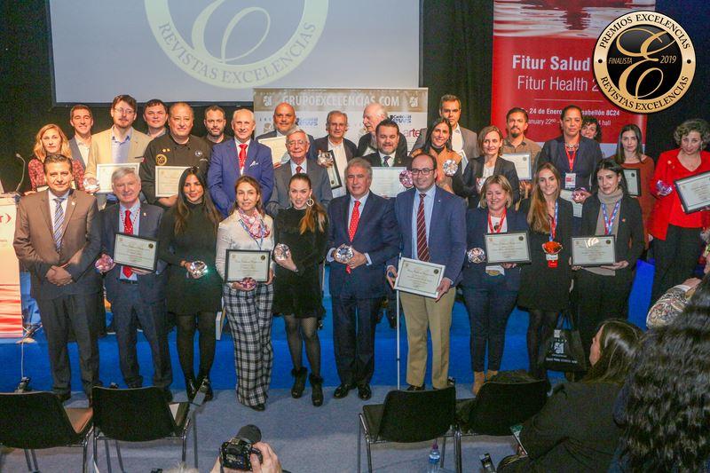 Orpagu recibe en Fitur el premio Azul del Grupo Excelencias por sus prácticas sostenibles