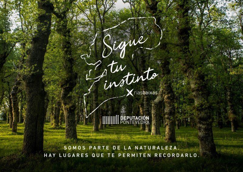 A Deputación de Pontevedra leva a FITUR a inigualable natureza da provincia coa campaña Sigue o teu instinto