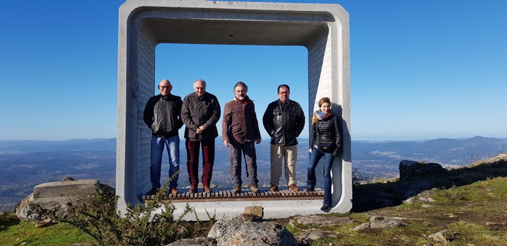 Nava Castro salienta o potencial turístico da rede de observatorios nocturnos apoiado pola Xunta en Condado-Paradanta