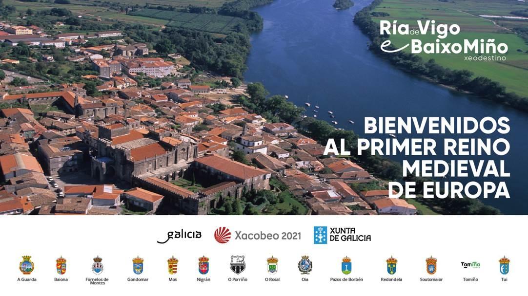 """O Xeodestino Ría de Vigo e Baixo Miño presentará no stand de Galicia en FITUR """"Benvidos ao primeiro reino medieval de Europa"""""""