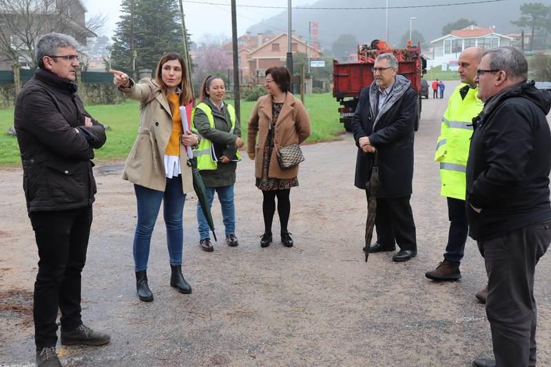 """A Guarda mellorará os accesos á praia do Muíño grazas ao proxecto europeo """"Visit Río Miño"""""""