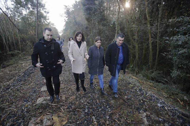 As obras da segunda fase do proxecto da Vía Verde do Salnés comezarán a mediados de marzo