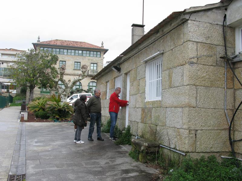 Nigrán aproba o proxecto para reformar as casas dos mestres como local para a terceira idade