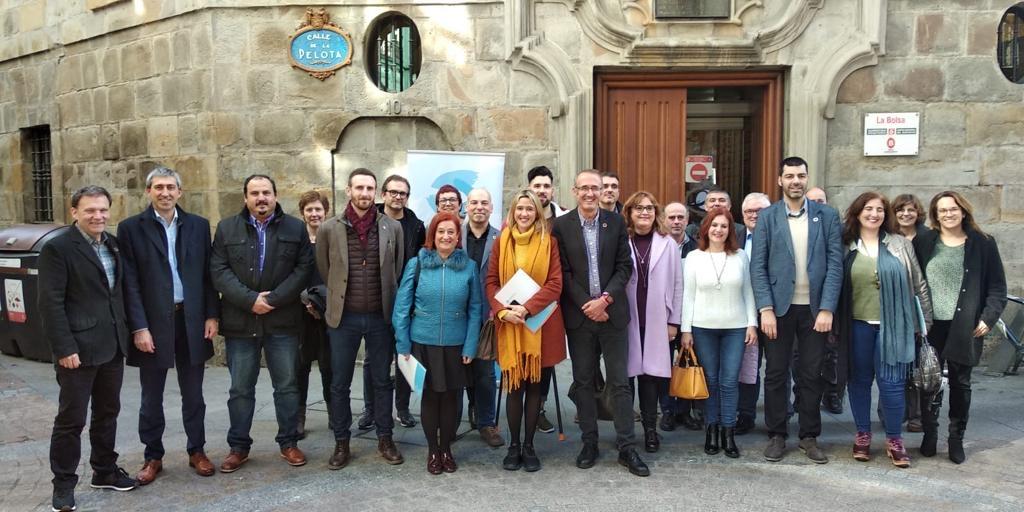 O alcalde de Nigrán asume en Bilbao a vicepresidencia da Confederación de Fondos de Cooperación e Solidaridade de toda España