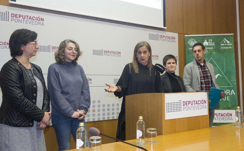 'Pontevedra Trail League' a nova aposta deportiva da Deputación de Pontevedra