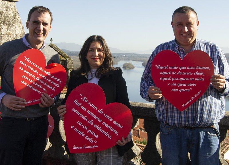 """Presentan a campaña """"Tui é un amor. Namoráte de Tui"""" para promocionar a cidade e o comercio local"""