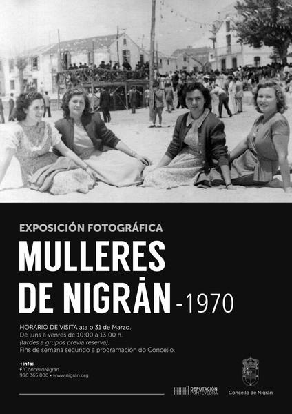 As mulleres de Nigrán protagonistas dunha exposición fotográfica