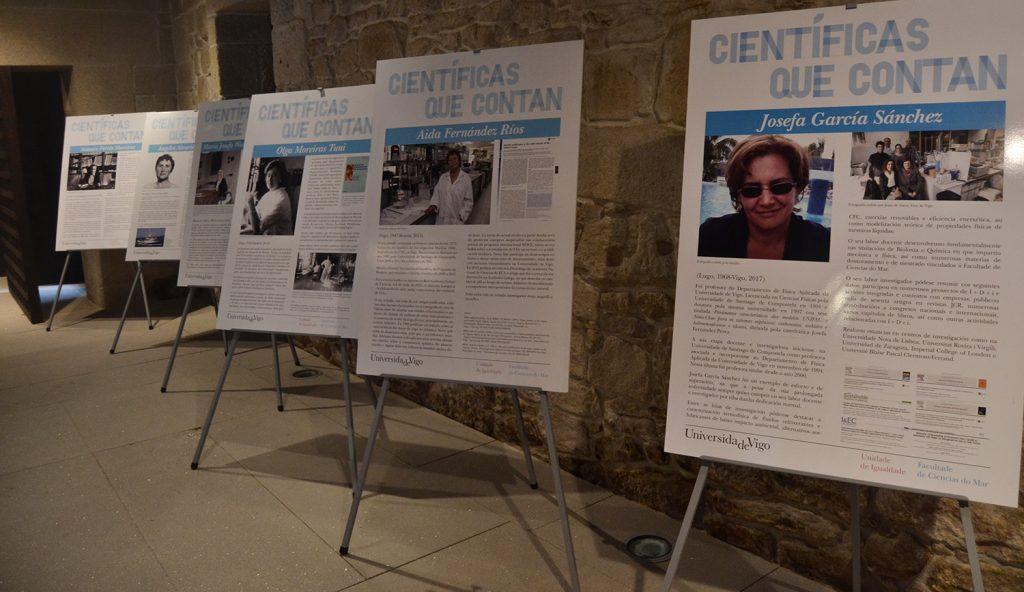 Unha visita virtual á mostra «Científicas que contan»