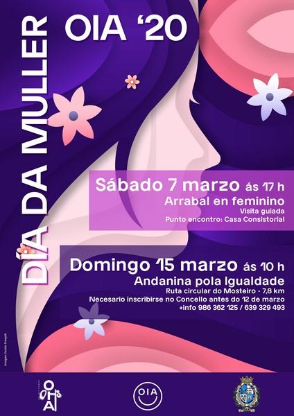 O Concello de Oia organiza unha visita guiada e unha andaina para conmemorar o día da Muller