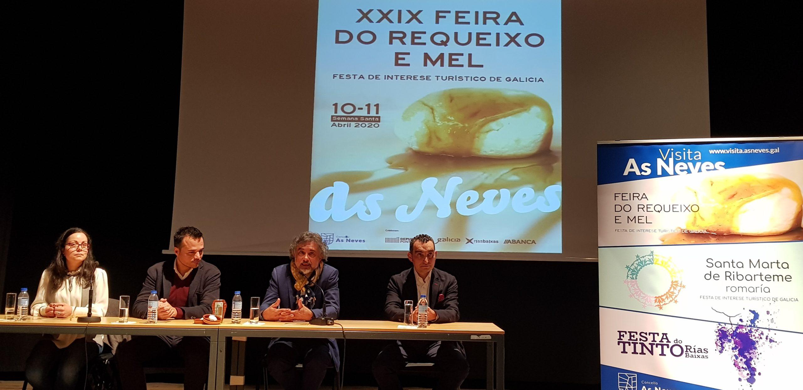 A XXIX Feira do Requeixo e do Mel das Neves presentada nun grande acto en Monção