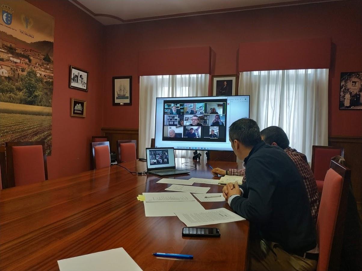 A Mesa local do Camiño en Tui acorda realizar un traballo conxunto de preparación dos novos escenarios post-confinamento