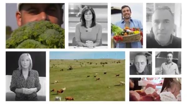 Agricultura lanza unha campaña para agradecer a todo o sector agroalimentario o seu esforzo e traballo nestes momentos de crise sanitaria