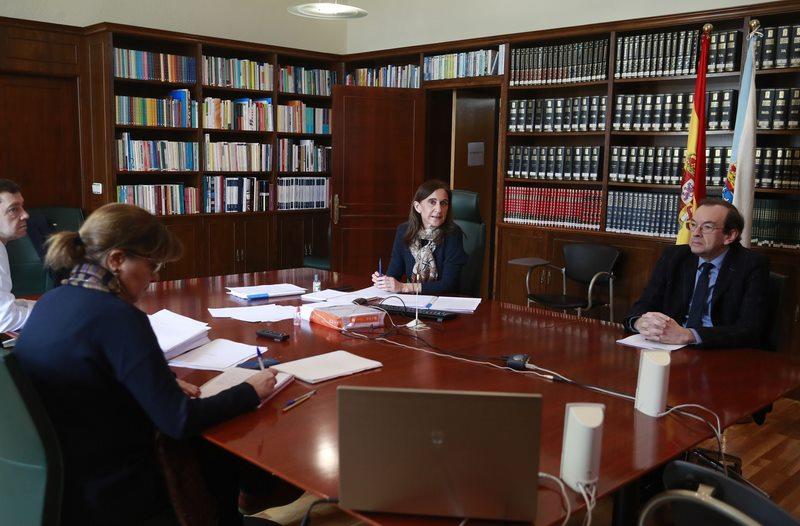 As tres universidades galegas consensúan coa Consellería non retomar as clases presenciais neste curso 20192020