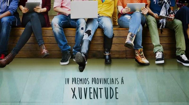 A Deputación de Pontevedra adianta o lanzamento da IV edición dos premios provinciais á Xuventude