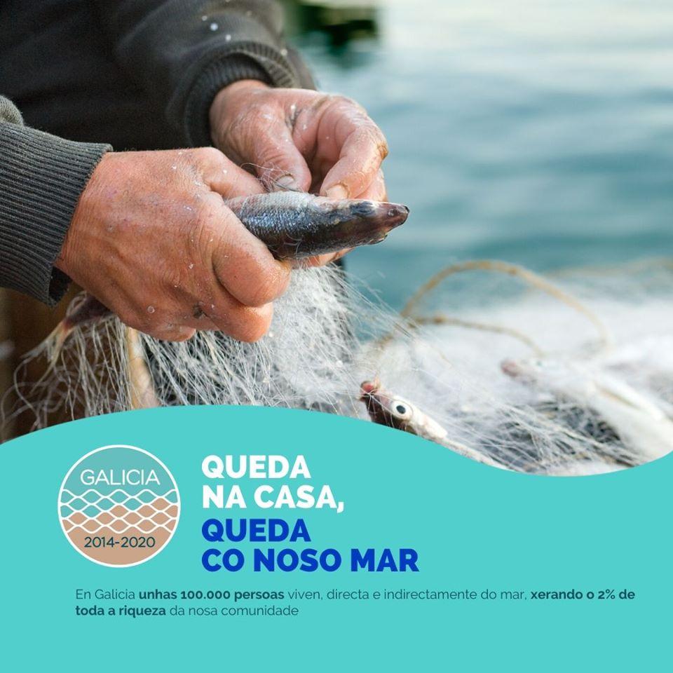 Os grupos de acción local pesquera (GALP) de Galicia lanzan a campaña #QuedaCoNosoMar