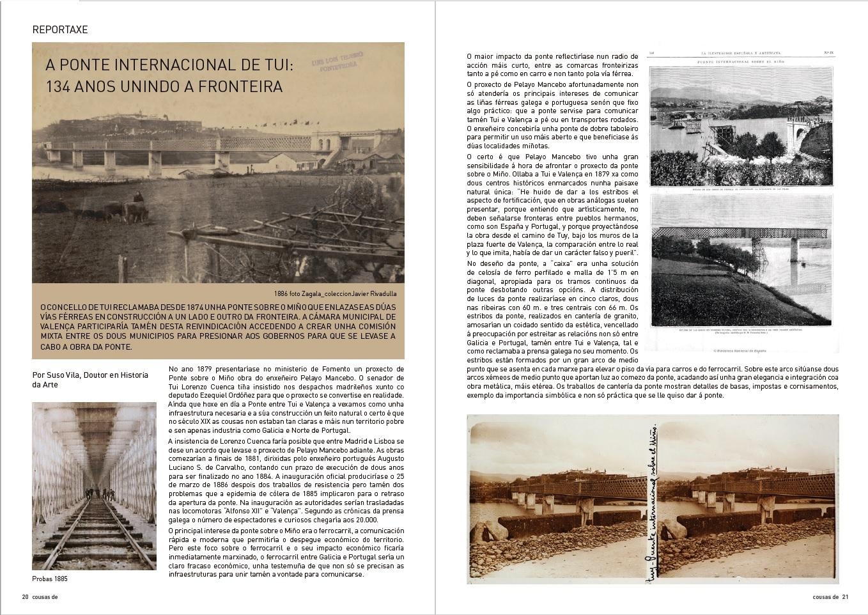 COUSAS DE #5 As pontes, testemuñas extraordinarias das relaccións entre pobos