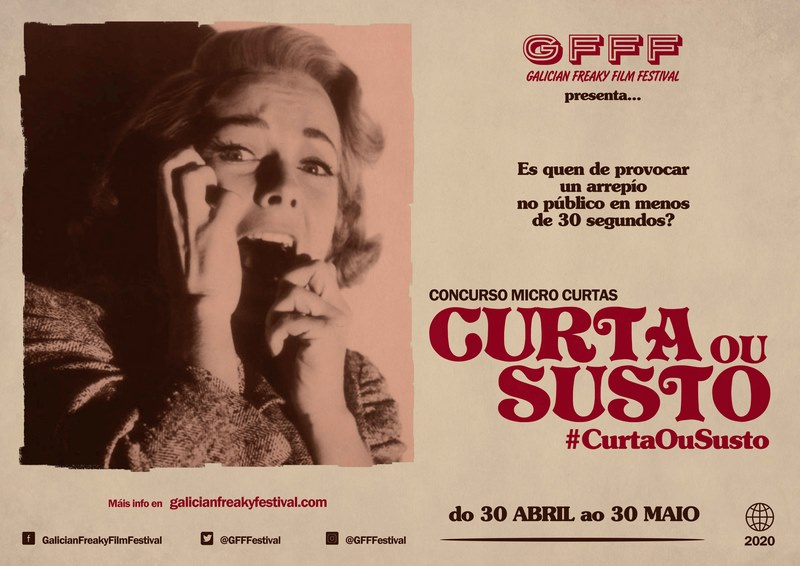 "O Galician Freaky Film Festival lanza o concurso de microcurtas online ""Curta ou Susto"""