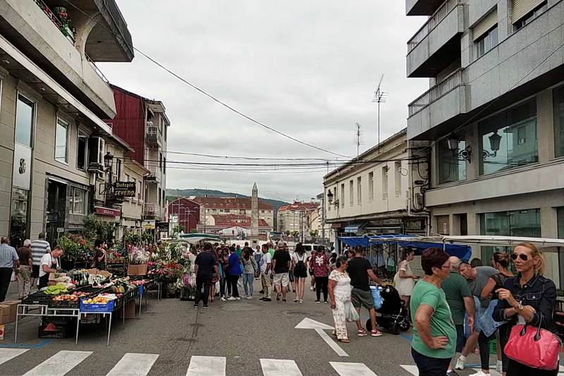 A feira de Ponteareas amplía os seus postos esta semana