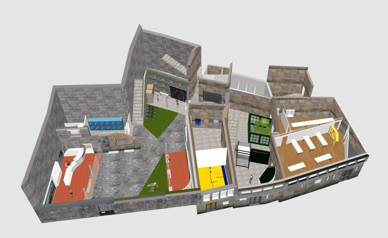 O cárcere vello de Tui, converterase nun centro de acollida de peregrinos e visitantes