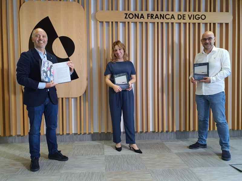 Zona Franca únese ao Día das Letras Galegas presentando o libro 'Vigo XXI, unha ollada ao futuro'
