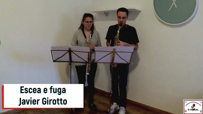 A Agrupación Musical porá banda sonora a maio, mes das Letras Galegas no Rosal