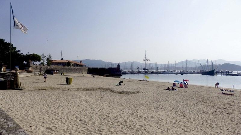 Baiona realizará unha 'proba piloto' na praia de Ribeira sobre medidas de seguridade cara ao verán