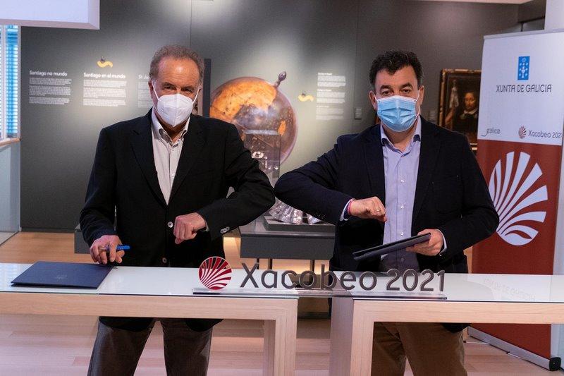 A Xunta e a Real Academia Galega de Belas Artes levarán unha mostra sobre o Camiño de Santiago ás sete cidades galegas