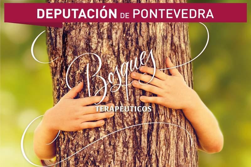 """A Deputación de Pontevedra lanza """"Bosques Terapéuticos"""" un novo programa que nace para conxugar natureza, exercicio, saúde, cultura e historia"""