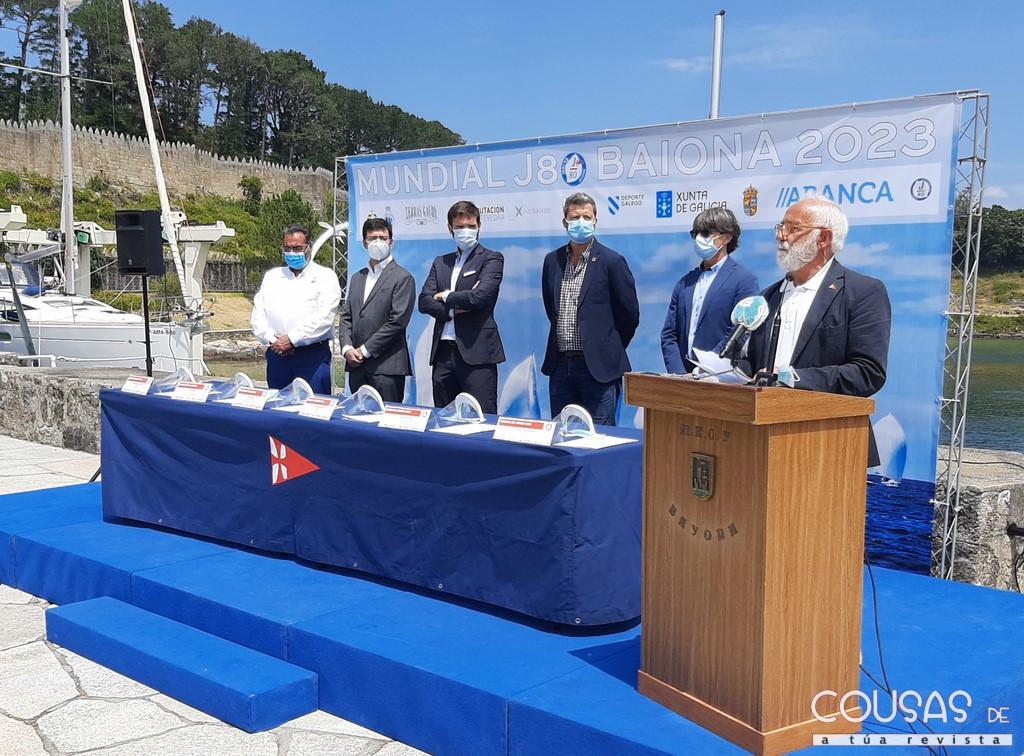 Baiona será sede do Mundial da clase J80 de vela en 2023