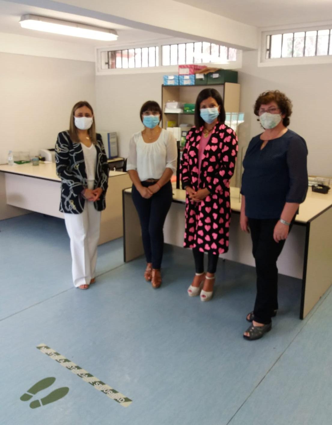 A sede da Asociación Española Contra o Cancro (AECC) en Mos reabre de novo as súas instalacións