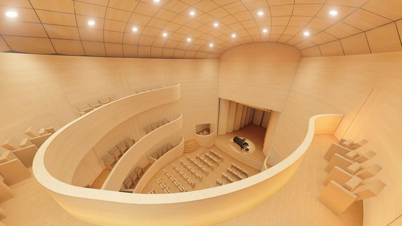 Tui da un paso máis para a rehabilitación do Teatro Principal coa presentación do anteproxecto de César Portela