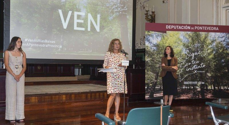 A Deputación de Pontevedra presenta VEN a nova campaña para reactivar o turismo na provincia