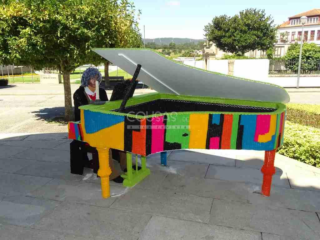 Em Cerveira, com 'O Crochet sai à Rua' a música é outra!