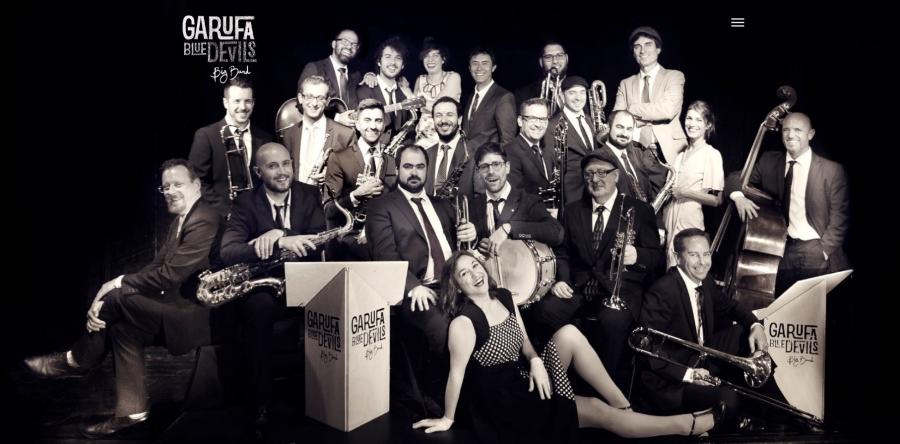 Garufa Blue Devil Big Band actuará en Gondomar da mán do Musigal 2020