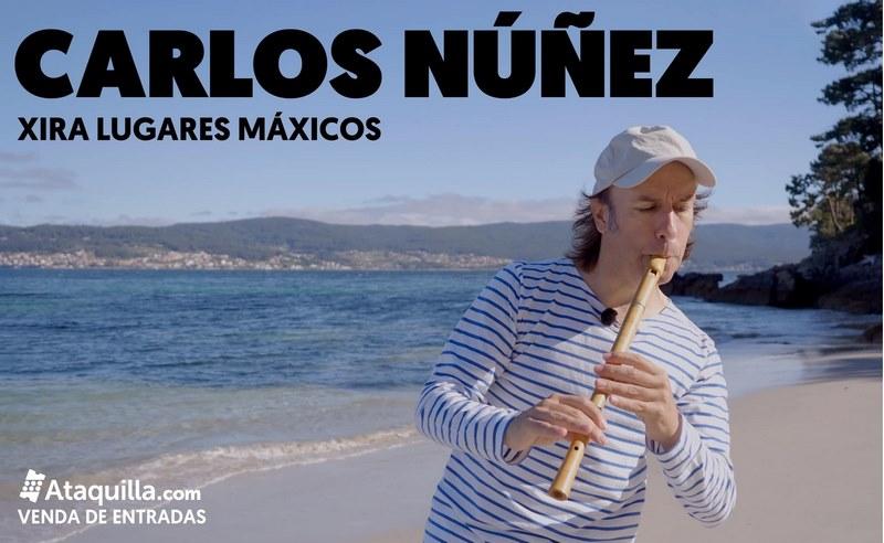 Nigránporá o colofón finala súa programación especial deste verán con dousconcertosde Carlos Núñez no miradoiro de Monteferro