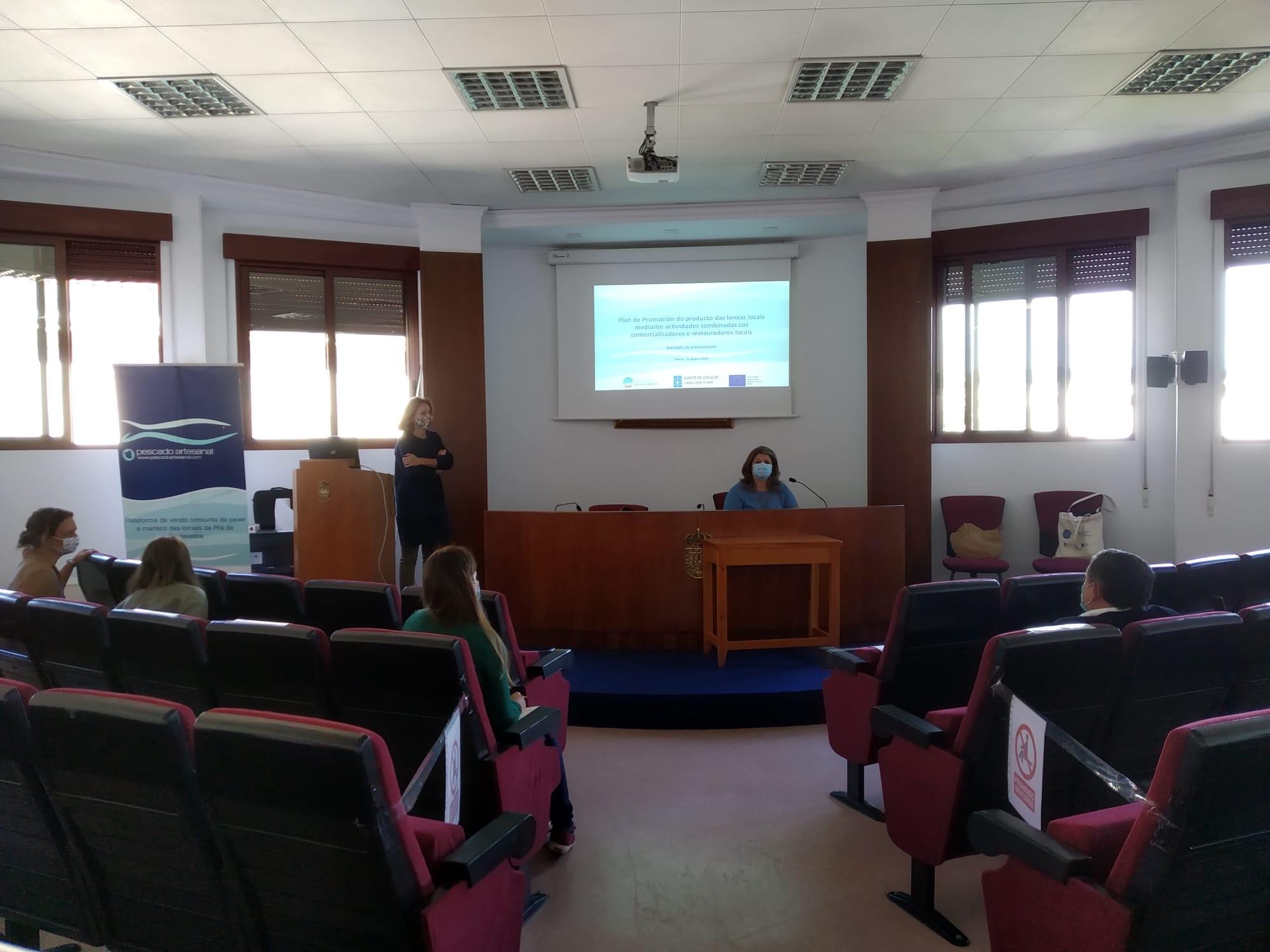 O GALP Ría de Pontevedra presenta as accións que desenvolverá para impulsar a pesca artesanal