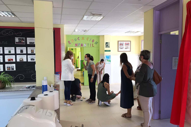 O Concello de Redondela intensifica a súa colaboración cos centros escolares no inicio do curso