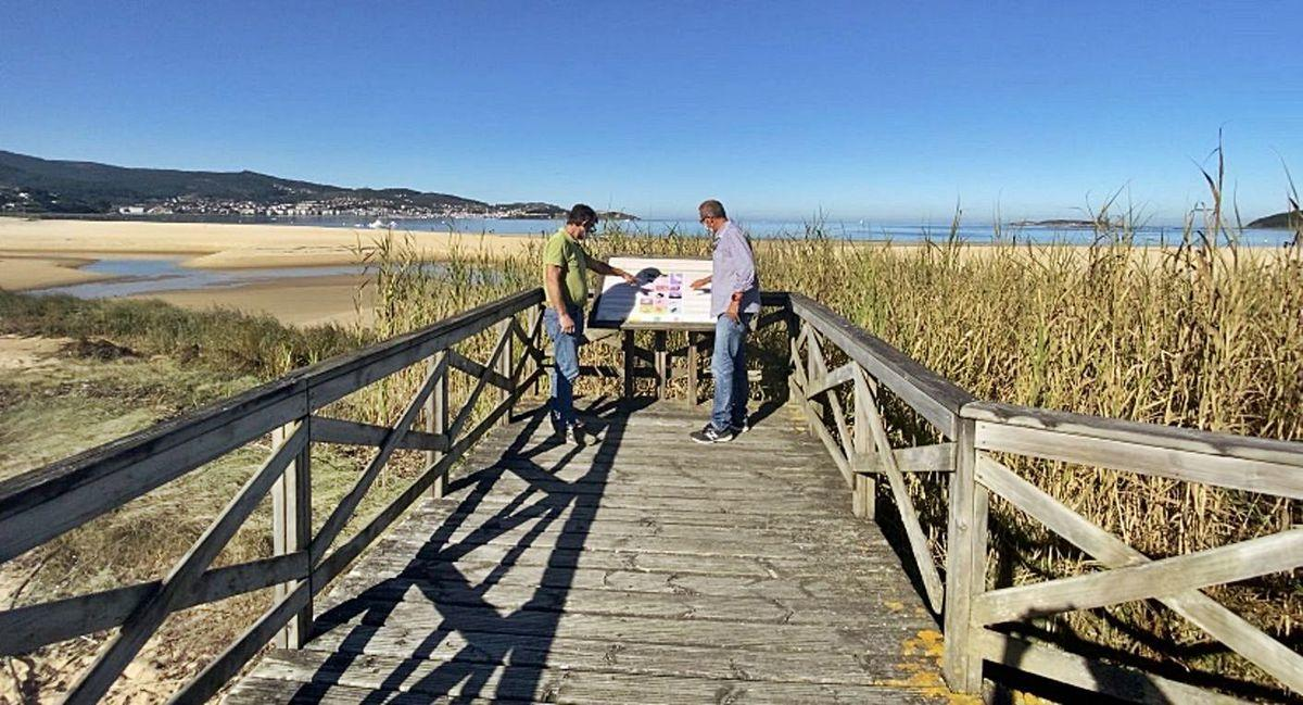 Nigrán recibe a máxima puntuación do GALP Ría de Vigo polo seu proxecto para a recuperación do litoral en Praia América e Panxón