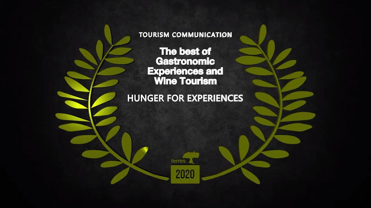 A campaña turística ' Fame de experiencias' consegue un novo galardón internacional