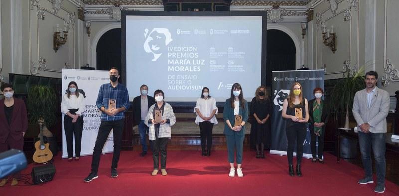 Carmela Silva ensalza a grande revolución que vive o audiovisual galego na entrega dos IV Premios María Luz Morales