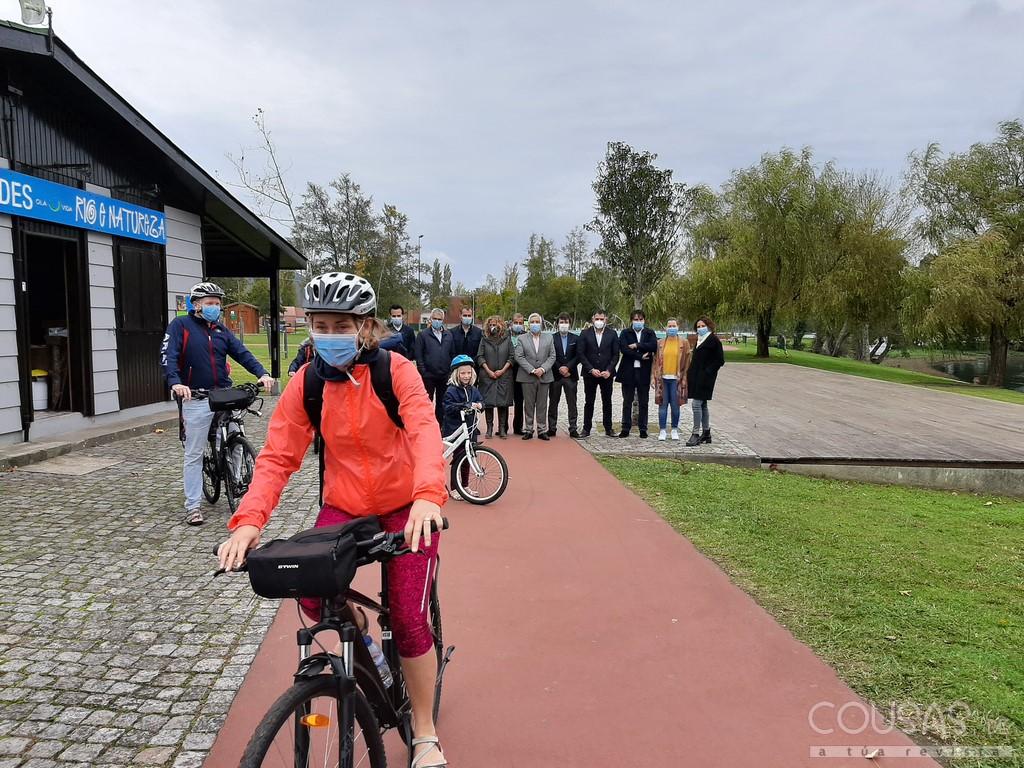 A AECT Rio Minho pon en marcha un proxecto piloto de bicis transfronteirizas nas Eurocidades do Miño